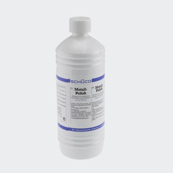 Plejemiddel til eloxerede aluminiumselementer